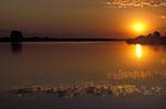 Africa;sunset;Chobe_River;Chobe_National_Park;North_West_District;Botswana;Botswanan