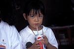 Brunei;Bruneian;Borneo;Southest_Asia;Asia;childhood;children;girl;girls;child;children;youngsters;kids;childhood;person;people;girls;kids;people;persons;youngsters;Bandar_Seri_Begawan;Brunei_Darussalam;Little;girl;drinking;soda