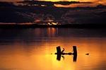 Canada;Canadian;North_America;Prairies;Hecla;Provincial_Park;Manitoba;Sunset;Grassy_Narrows_Marsh