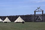 Canada;Canadian;North_America;armed_forces;Art;Art_history;castles;fortresses;forts;martial;military;National_Historic_Site_of_Canada;Saskatchewan;Tipis;Fort_Battleford_