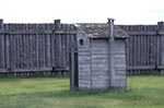 Canada;Canadian;North_America;armed_forces;Art;Art_history;castles;fortresses;forts;martial;military;National_Historic_Site_of_Canada;Saskatchewan;Outhouse;stockade;Fort_Battleford_