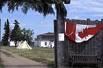 Canada;Canadian;North_America;armed_forces;Art;Art_history;castles;fortresses;forts;martial;military;National_Historic_Site_of_Canada;Saskatchewan;Gate_to_Fort_Battleford_