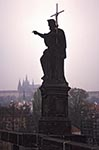 Czech_Republic;Czech;Europe;Europa;Art;Art_history;Baroque;Charles_Bridge;Christianity;Christian;Catholic;religion;faith;beliefs;creed;Historic_Centre_of_Prague;Prague;Praha;Sculpture;St_John_the_Baptist;Statue;UNESCO;World_Heritage_Site