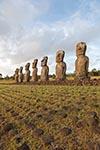 Rapa_Nui;Chile;Easter_Island;Isla_de_Pascua;Chilean;South_Pacific;South_America;Latin_America;Polynesia;Polynesian;island;Ahu_Akivi;Ancient;archaeological;archaeology;Art;Art_history;Sculpture;UNESCO;World_Heritage_Site;moai