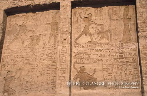 Egypt;Egyptian;Ancient;Archaeology;Architecture;arid;Art;art;Art history;art history;Aswan;Bas-reliefs;deserts;façade;Great Temple of Ramses II;Middle East;Near East;Nile;North Africa;rivers;streams;Temple of Ramses II;UNESCO;water;World Heritage Site;Abu Simbel