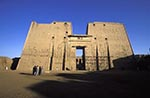 Egypt;Egyptian;_Ancient;Archaeology;Architecture;arid;Art;art;Art_history;art_history;Aswan;Carvings;deserts;Edfu;high_Pylon;Horus;Middle_East;Near_East;Nile;North_Africa;rivers;streams;Temple;Temple_of_Horus;towers;twin;water