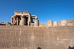 Egypt;Egyptian;Africa;Ancient;Archaeology;Architecture;arid;Art;Art_history;Aswan;Bas_reliefs;deserts;Haroeris;inner_enclosure_wall;Kom_Ombo;Nile;North_Africa;rivers;Roman;Roman_Empire;Ancient_Rome;streams;Temple_of_Kom;Temple_of_Sobek;water