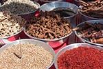Egypt;Egyptian;Spices;village;Nag_Gharb_Siheil;Aswan;arid;boats;deserts;Nile;North_Africa;spices;foods