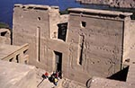 Egypt;Egyptian;Ancient;Archaeology;Architecture;arid;Art;art;Art_history;art_history;Aswan;deserts;Middle_East;Near_East;Nile;North_Africa;Philae;rivers;Second_Pylon;Second_pylon;streams;Temple_of_Isis;UNESCO;water;World_Heritage_Site;Africans