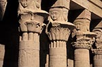 Egypt;Egyptian;Ancient;Archaeology;Architecture;arid;Art;art;Art_history;art_history;Aswan;birth_house;Birth_house;columns;deserts;Floral_column;Hathor;Hathor_heads;Middle_East;Near_East;Nile;North_Africa;Nubia;Nubian_Monuments_from_Abu_Simbel_to_Philae;Philae;rivers;sistrum_capitals;streams;UNESCO;water;World_Heritage_Site;Africans