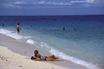 Fiji;Fijian;Melanesia;South_Pacific;Oceania;beach;Beachcomber;Island;coasts;female;islands;people;People;person;persons;seashores;seaside;tropical;Western_Province;woman;women;beaches