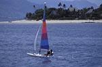 Fiji;Fijian;Melanesia;South_Pacific;Oceania;boats;vessels;transportation;islands;recreations;sports;tropical;Windsurfing;Beachcomber;Island;Western_Province;Windsurfing