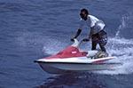 Fiji;Fijian;Melanesia;South_Pacific;Oceania;Beachcomber;Island;islands;jetski;male;man;Man;men;people;person;persons;recreations;sports;tropical;Western_Province