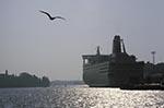 Europe;ferries;ferry;Finland;Finnish;harbour;Helsinki;Line;marine;public_transportation;Silja;Suomi