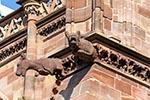 France;French;Europe;Europa;architecture;art;art_history;beliefs;cathedral;Cathedral_of_Notre_Dame;Catholic;Christianity;Christian;creed;faith;Gargoyle;Gothic;Grande_Ile;gutter_spouts;Medieval;Middle_Ages;religion;Strasbourg;UNESCO;World_Heritage_Site