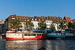 France;French;Europe;Europa;boats;Grande_Ile;Houseboats;Ill;Quai_de_Pecheurs;river;Strasbourg;transportation;UNESCO;vessels;World_Heritage_Site