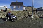 Greenland;Kalaallit_Nunaat;Kalaallit_Nunaat;all_terrain_vehicle;Arctic;children;Denmark;glacial;Greenlandic;ice;Inuit;islands;Ittoqqortoormiit;landscapes;Man;North_America;polar;scenery;scenic;Scoresby_Sund;Scoresbysund