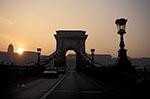 Hungary;Hungarian;Magyar;Europe;Europa;Eastern_Europe;bridge;Chain_Bridge;Szechenyi;Budapest;sunset;Széchenyi_lánchíd;UNESCO;World_Heritage_Site