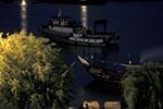 Iraq;Iraqi;Mesopotamia;Mesopotamian;Arvand;Basra;boats;marine;Middle_East;Near_East;night;rivers;streams;water;Shatt_al_Arab;ships;transportation;Tug;vessels_