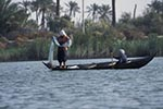 Iraq;Iraqi;Mesopotamia;Mesopotamian;Arvand;boats;fisherman;fishermen;Fishermen;fishing_industry;male;man;men;Middle_East;Near_East;people;Iraqis;Arabs;Arabic;person;persons;rivers;streams;water;Shatt_al_Arab_