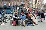 Ireland;Irish;British_Isles;Europe;Europa;Celtic;female;islands;male;man;men;musicians;performers;artists;performing_arts;entertainers;people;person;persons;woman;women;Dublin;Westmoreland;Street;Dublin