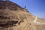 Israel;Israeli;Holy_Land;Archaeology;deserts;arid;barren;Jews;Jewish;Middle_East;Near_East;UNESCO;World_Heritage_Site;Masada;Snake;Path;cable;car;lines