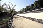 Japan;Nippon;Asia;Japanese;Architecture;Art;Art_history;castles;fortresses;forts;islands;UNESCO;World_Heritage_Site;Himeji_jo;Hyogo_Prefecture;Outer;wall;Himeji;Castle