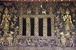 Laos;Asia;Architecture;Art;Art_history;Buddhism;Buddhist;Indochina;Lao;Laotian;Painting;Southeast_Asia;Town_of_Luang_Prabang;tropical;UNESCO;World_Heritage_Site;Luang_Prabang;Sim;wall;Wat_Xieng_Thong