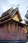 Laos;Asia;Architecture;Art;Art_history;Buddhism;Buddhist;Indochina;Lao;Laotian;Southeast_Asia;Town_of_Luang_Prabang;tropical;UNESCO;World_Heritage_Site;Luang_Prabang;Red;Chapel;Wat_Xieng_Thong