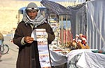 Libya;Libyan;Africa;arid;barren;deserts;male;man;men;people;Libyans;person;persons;people;Libyans;Ghadames;Post_card;vendor
