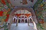 Aguascalientes;Art;Art_history;Camino_Real_de_Tierra_Adentro;Central_America;Government_Palace;Latin_America;Mexican;Mexico;Mural;North_America;Oswaldo_Barra_Cunningham;Painting;painting;UNESCO;World_Heritage_Site
