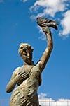 Mexico;Mexican;Latin_America;North_America;Central_America;Coahuila;Art;Art_history;Coahuila;Neo_Classicism;Neoclassical;Neoclassicism;pigeon;Saltillo;Sculpture;Fountain;Nymphs;Plaza_de_Armas