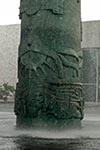 Mexico;Mexican;Latin_America;North_America;Central_America;Architecture;Art;Art_history;Modern;architecture;City;Distrito_Federal;Mexico_City;DF;Fountain;modern_art;Jose_Chavez_Morado;National_Museum_of_Anthropology;Mexico_City;Distrito_Federal;DF