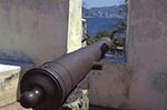 Mexico;Mexican;Latin_America;North_America;Central_America;Acapulco;Art;Art_history;beaches;Cannon;castles;coasts;Fort_San_Diego;fortresses;forts;Guerrero;seashores;seaside;Spanish_Colonial;Architecture