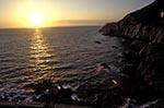 Mexico;Mexican;Latin_America;North_America;Central_America;Acapulco;beaches;coasts;Guerrero;La_Quebrada;seashores;seaside;sunset