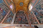 Mexico;Mexican;Latin_America;North_America;Central_America;Christianity;Christian;Catholic;religion;faith;beliefs;creed;fresco;interior;Guadalupe;Chapel;Real_de_Catorce;San_Luis_Potosi