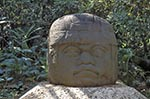 Mexico;Mexican;Latin_America;North_America;Central_America;Ancient;Anthropology;Archaeology;Art;Art_history;Civilization;Culture;History;Mesoamerica;Olmec;Pre_Columbian;Precolombian;pre_Hispanic;Sculpture;Colossal;Olmec;head;La_Venta;Villahermosa;Tabasco