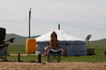 Arkhangai_Province;Asia;girl;_girls;_child;_children;_youngsters;_kids;_childhood;_person;_people;Mongolia;Mongolian;yurt;_ger;_tent;_nomad
