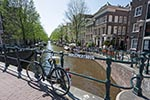 Amsterdam;Benelux;Bicycle;bridge;bridges;Dutch;Europa;Europe;Holland;Netherlands;Pansemertbrug;Seventeenth_century_canal_ring_area_of_Amsterdam_inside_the_Singelgracht;UNESCO;World_Heritage_Site