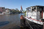 Amstel;Amsterdam;Benelux;canal;Dutch;Europa;Europe;Holland;houseboat;houses;Netherlands;river;Seventeenth_century_canal_ring_area_of_Amsterdam_inside_the_Singelgracht;UNESCO;World_Heritage_Site