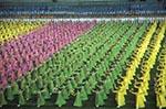 North_Korea;Korea;Korean;Asia;ceremonies;ceremony;Communism;Communist;crowds;groups;persons;person;people;Koreans;Democratic_people;Koreanss_Republic_of_Korea;Marxist;people;Koreans;persons;Pyongyang;Mass;celebration;Arirang;Festival