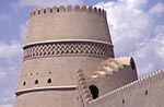 Oman;Omani;Arabia;_Arabian_Peninsula;Architecture;Art;Art_history;Islamic;Middle_East;Muslim;Near_East;Buraimi;Adh_Dhahirah;Mud_brick;tower;Al_Khandaq_Fort