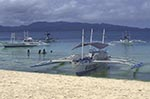 beaches;boats;vessels;transportation;coasts;island;seashores;seaside;tropical;Boracay;Aklan;Catamarans;shore;White_Beach;Philippines;Philippine;Filipino;Asia;Southeast_Asia