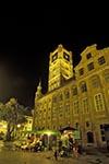 Poland;Polish;Polska;Europe;Europa;Architecture;Art;Art_history;Gothic;Medieval;Medieval_Town_of_Torun;UNESCO;World_Heritage_Site;Torun;Kujavian_Pomeranian_Voivodship;Old_Town_Hall;night