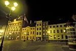 Poland;Polish;Polska;Europe;Europa;UNESCO;World_Heritage_Site;Medieval_Town_of_Torun;Torun;Kujavian_Pomeranian_Voivodship;Artus;Court;buildings;Old;Market_Square;night