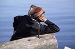 Russia;Russians;Europe;Europa;Man;log;Lake_Baikal;Baikal;Lake_Baikal;Irkutsk_Oblast;Asia;lakes;male;man;men;people;Russians;person;persons;people;Russians;Siberia;UNESCO;water;World_Heritage_Site