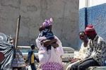 Senegal;Senegalese;Africa;Africa;baby;babies;infants;tots;children;childhood;person;people;man;men;male;person;people;people;persons;woman;women;female;person;people;Dakar;Vendors
