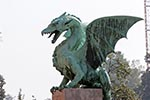 Slovenia;Slovene;Slovenian;Europe;Eastern_Europe;Europa;Art_history;Art_Noveau;Jugendstil;Modern_architecture;Modern_art;Sculpture;Yugoslavia;Art;Ljubljana;Dragon_sculpture;Dragon_Bridge