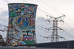 South_Africa;South_African;Africa;Soweto;Gauteng;Orlando;Power;Station;towers;Soweto