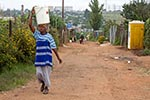 South_Africa;South_African;Africa;persons;people;South_Africans;woman;women;female;person;people;South_Africans;Soweto;Gauteng;Woman;squatter;camp;community